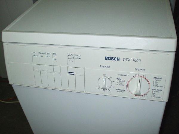 Waschmaschine toplader bosch wof hausgeräte partner