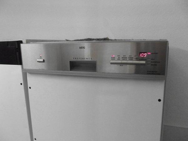 Spulmaschine Aeg Favorit 64075 I M A A A Integrierbar